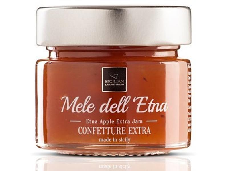 Appelconfiture extra gemaakt van Siciliaanse appels  groeiend langs de Etna