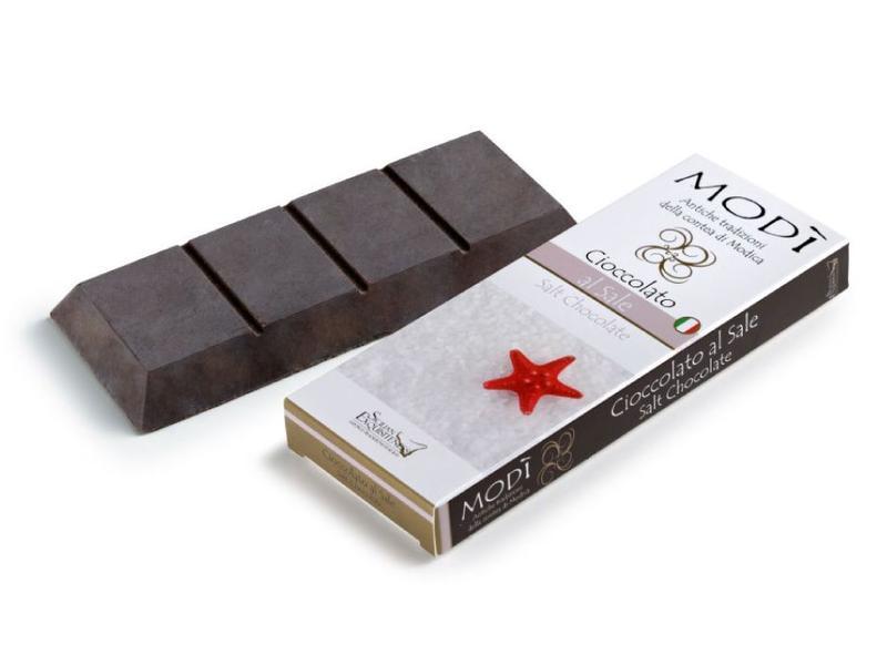 Chocolade uit Modica, Sicilie met Zeezout