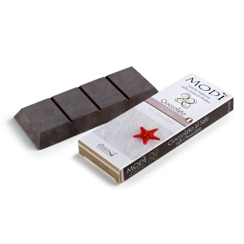 Chocolade uit Modica met Zeezout