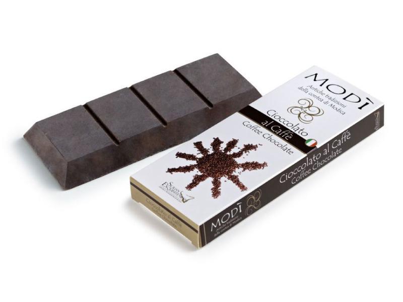 Chocolade uit Modica, Sicilie®, met koffiesmaak