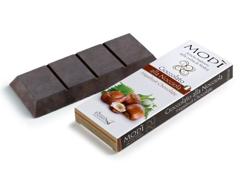 Chocolade uit Modica bereid met Italiaanse hazelnoot volgens Azteeks recept