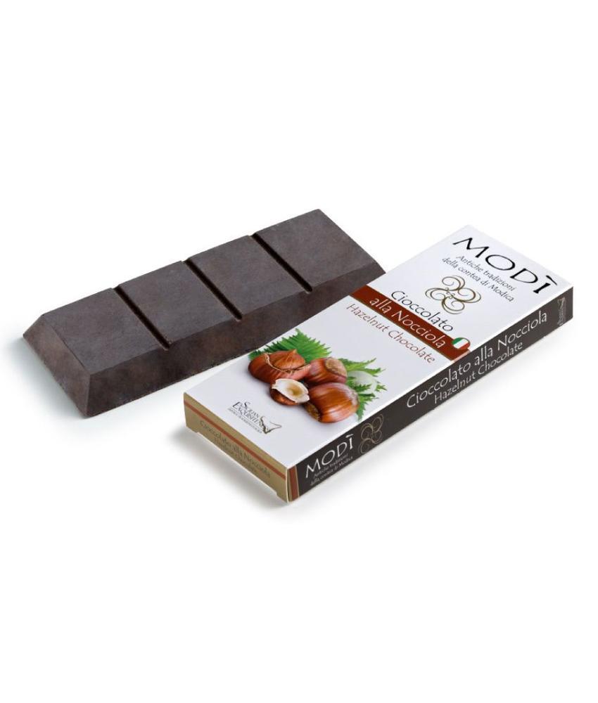 Chocolade uit Modica bereid met Italiaanse hazelnoot