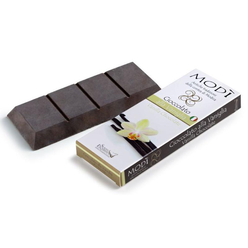 Chocolade uit Modica, met echte vanille