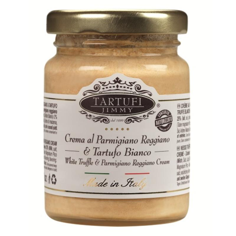 Witte Truffelcrème met Parmigiano Reggiano