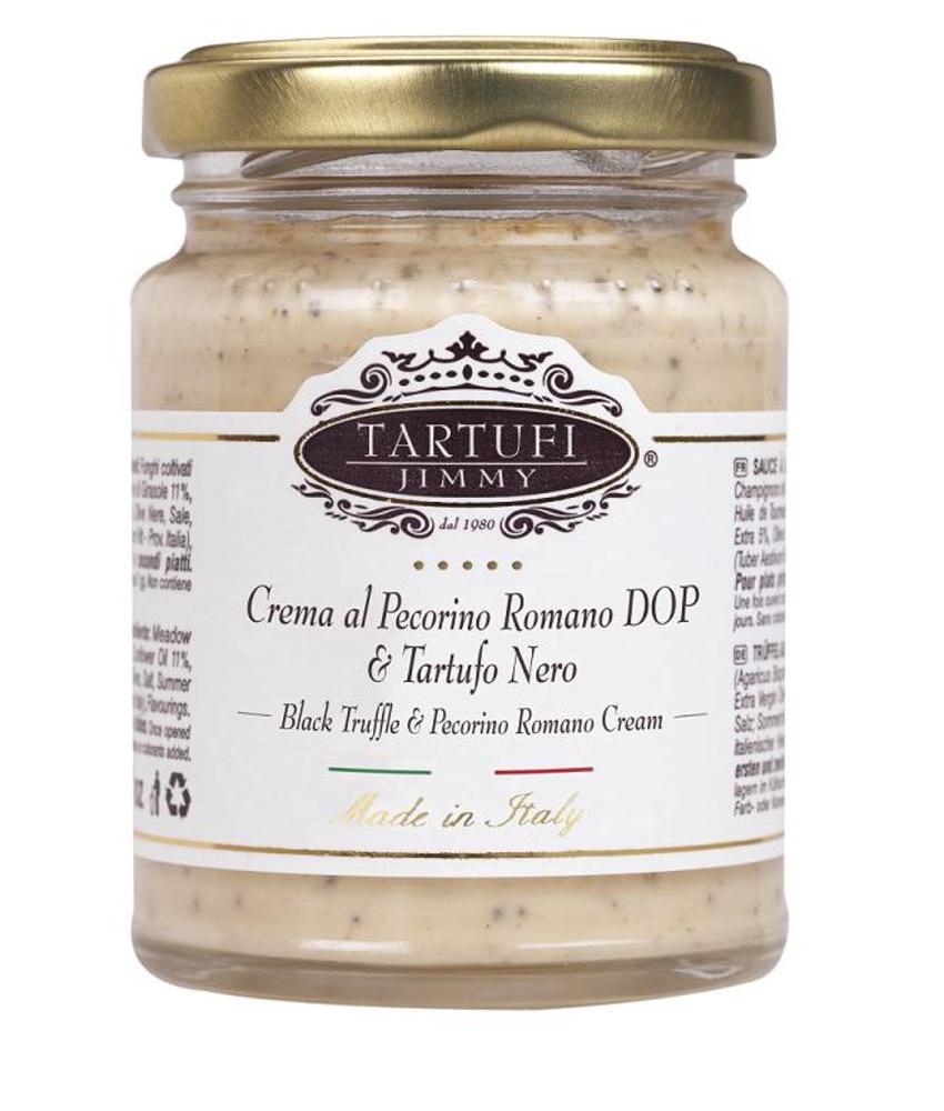Truffel Crème met Pecorino en Zwarte Truffel