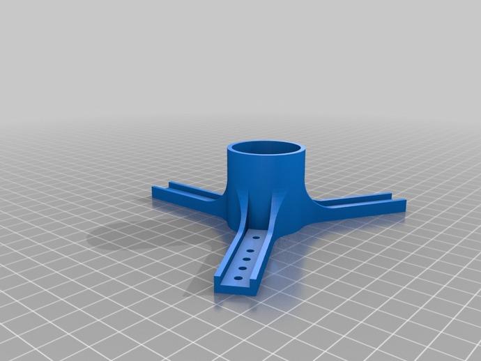 3D tekening 1 spoel Laywoo-D3 en Laybrick