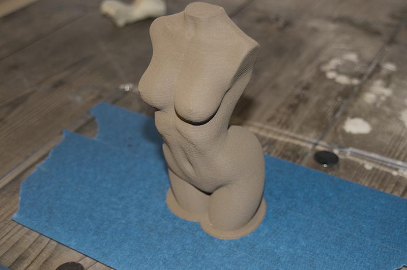 Bronzefill filament onbewerkt