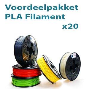 Filament-shop Voordeelpakket PLA 20x