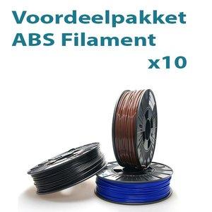 Filament-shop Voordeelpakket ABS 10x