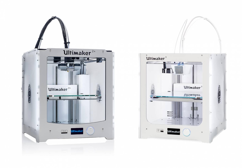 Ultimaker 3 en 2+, wat is het verschil?