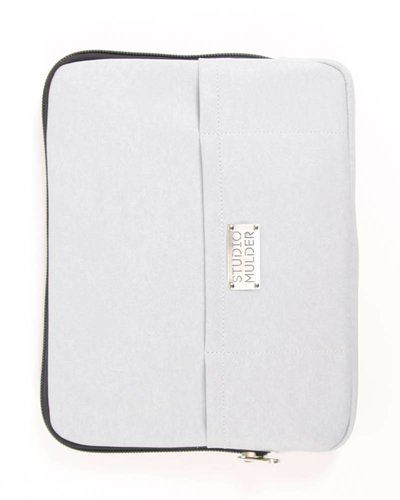 STUDIO MULDER Macbook Sleeve MORGAN (Lichtgrijs)