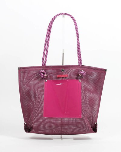 RATNA HO Limited Edition Welded Shopper Jaimy #1 (Magenta / Roze)