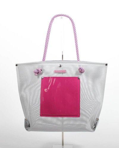 RATNA HO Limited Edition Welded Shopper Jaimy #4 (Grijs / Roze)