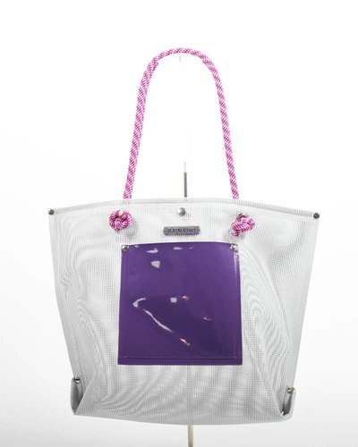 RATNA HO Limited Edition Welded Shopper Jaimy #5 (Grijs / Paars)