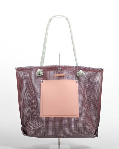 RATNA HO Limited Edition Welded Shopper Jaimy #6 (Bruin / Zalm)