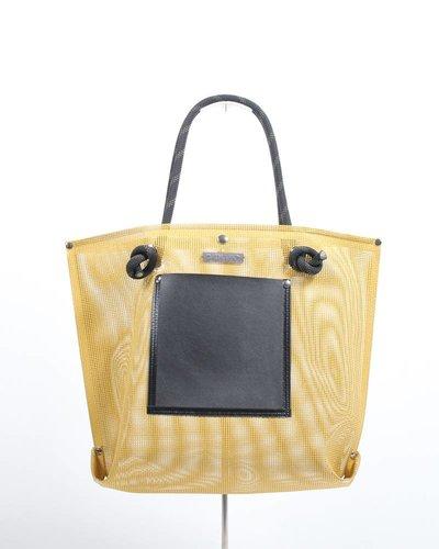 RATNA HO Limited Edition Welded Shopper Jaimy #7 (Geel / Zwart)