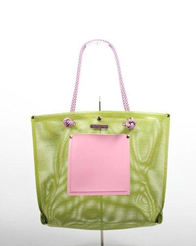 RATNA HO Limited Edition Welded Shopper Jaimy #8 (Groen / Roze)