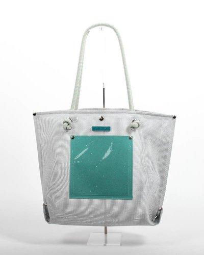 RATNA HO Limited Edition Welded Shopper Jaimy #10 (Grijs / Groen)