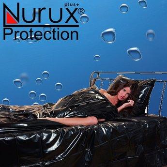 Nuru Protection Lak laken Zwart fitted sheet 220x200