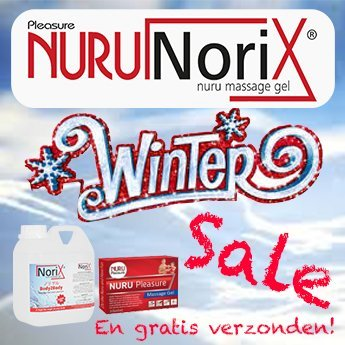 Winter Nuru ACTION. Lots of massage products for little money.