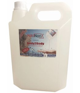 Nuru Massage Gels van Nuru Nederland Nuru gel Classic 5 liter Spa version