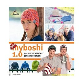 Boek Myboshi 1.0 mutsen en beanies