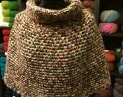 Poncho - Sjaal