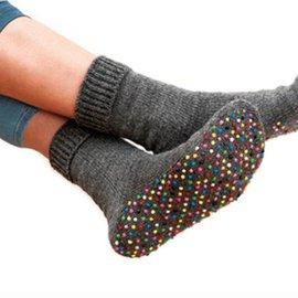 Sock stop creme Neon Geel