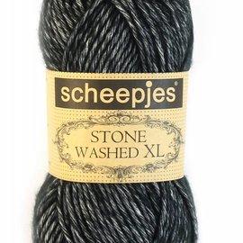 Scheepjeswol Stone Washed XL 843 Black Onyx