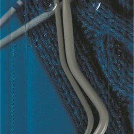 Kabelnaalden gebogen ALU grijs 6 + 8 mm