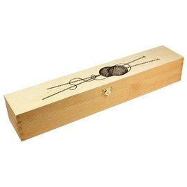 Breinaaldenbox hout groot