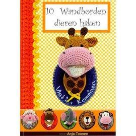 10 wandborden dieren haken - Anja Toonen