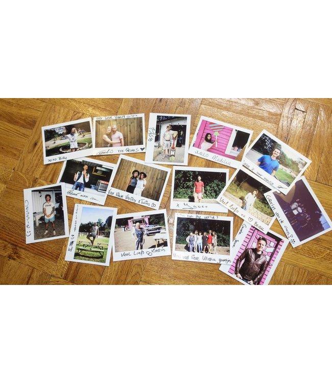 Unieke Polaroid foto met handtekening