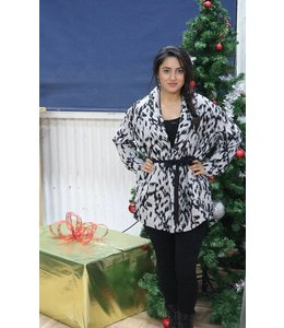 La Madi zwart/wit Classy blazer