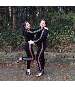 Glamour pakken van Linda en Madi