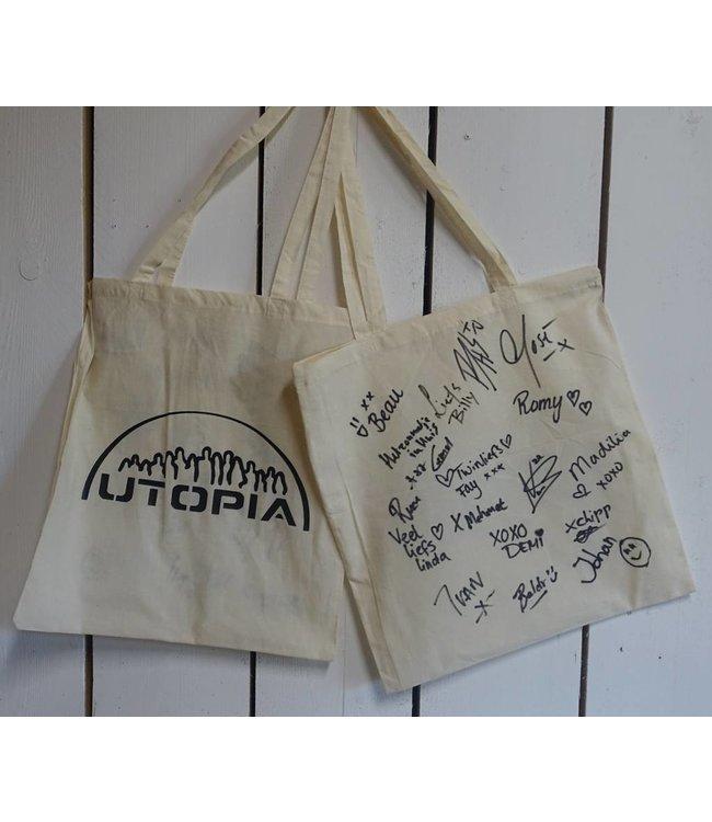 Utopia tas (met handtekeningen)