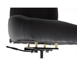 Seat with suspension