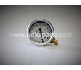 """KO102124 - Manometer. Lesereichweite: 0/1,6 bar. Anschluss: 1/4"""" unsere anschluss."""