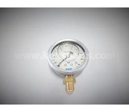 "KO105293 - Manometer 1/4"" OA. 0-10 bar. 63mm."