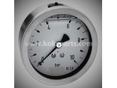 KO101635 - Manometer 0/10 bar. 100mm. (AA)