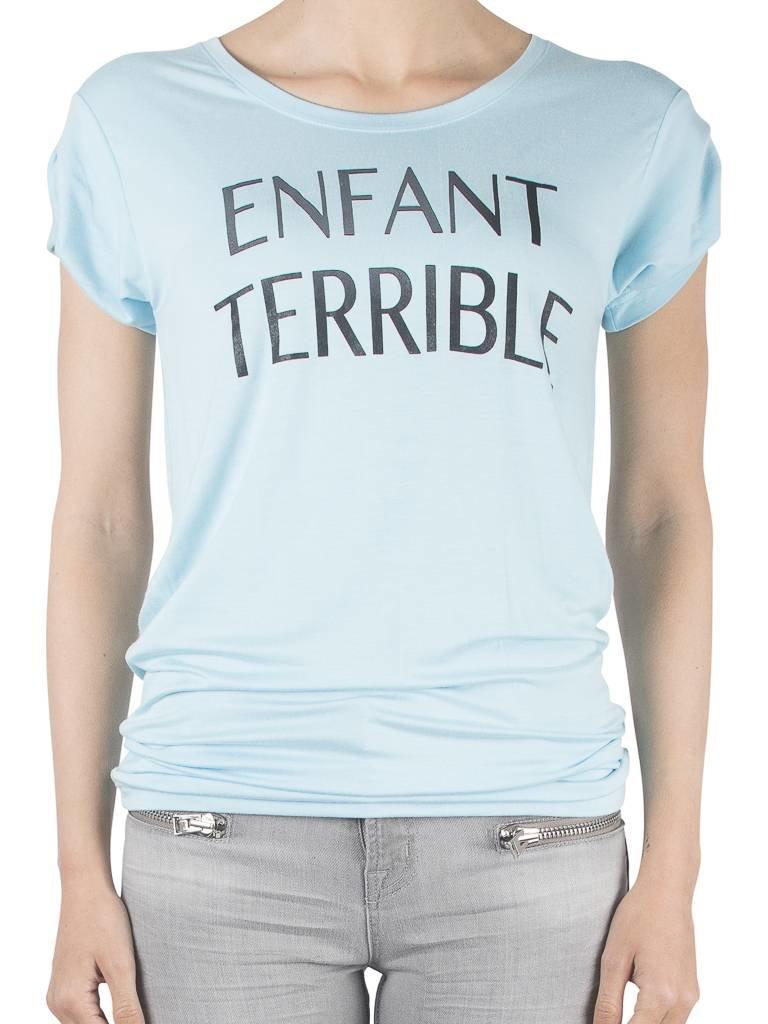 VLVT Enfant terrible T-Shirt hellblau
