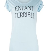 VLVT Enfant terrible T-Shirt hellblau