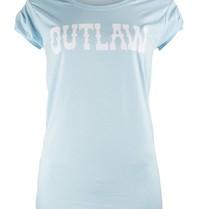 VLVT Outlaw t-shirt lichtblauw