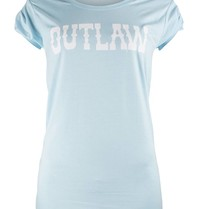 VLVT Outlaw tee light blue