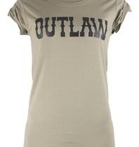 VLVT Outlaw t-shirt groen