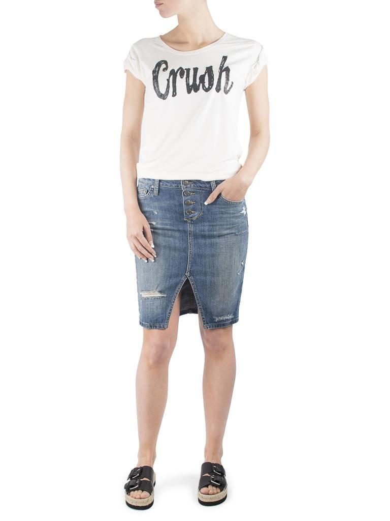 VLVT Crush creme T-Shirt