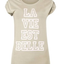 VLVT La vie est belle t-shirt groen