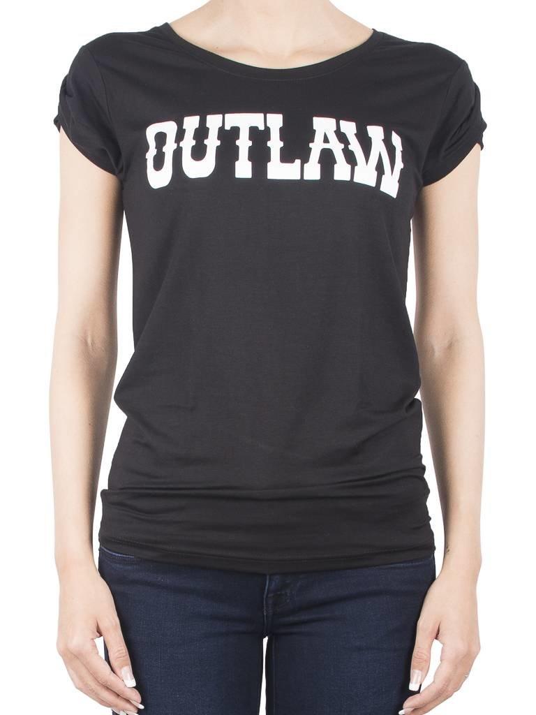 VLVT Outlaw T-Shirt zwart
