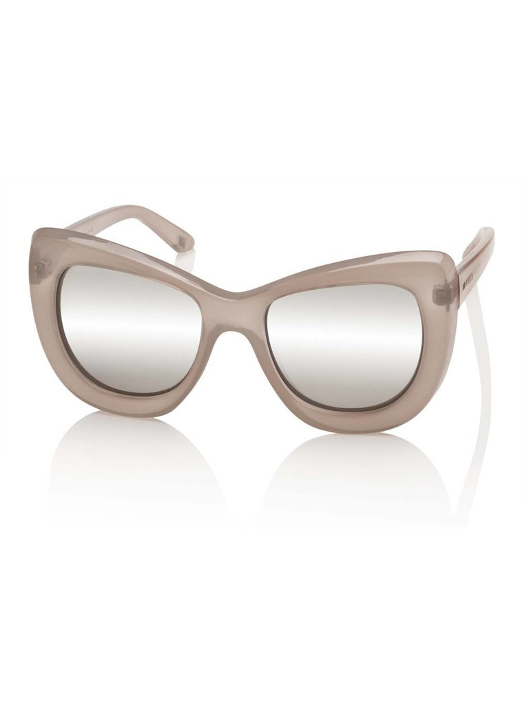 Le Specs Luxe Queenie zonnebril beige