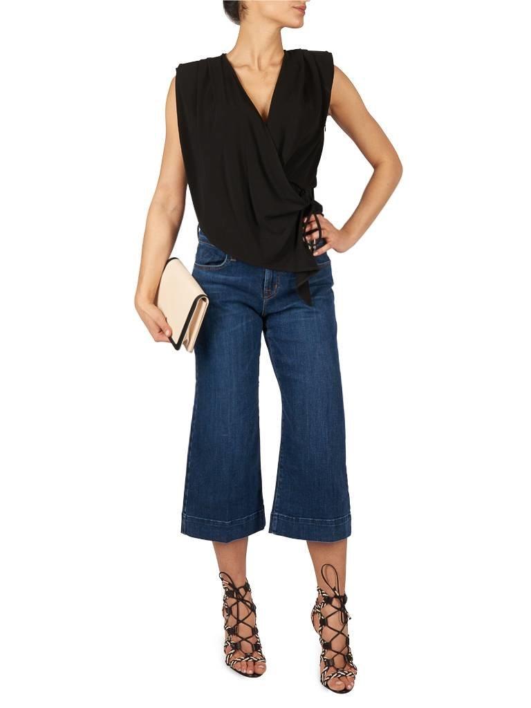 J Brand Liza Culotte Jeans blau